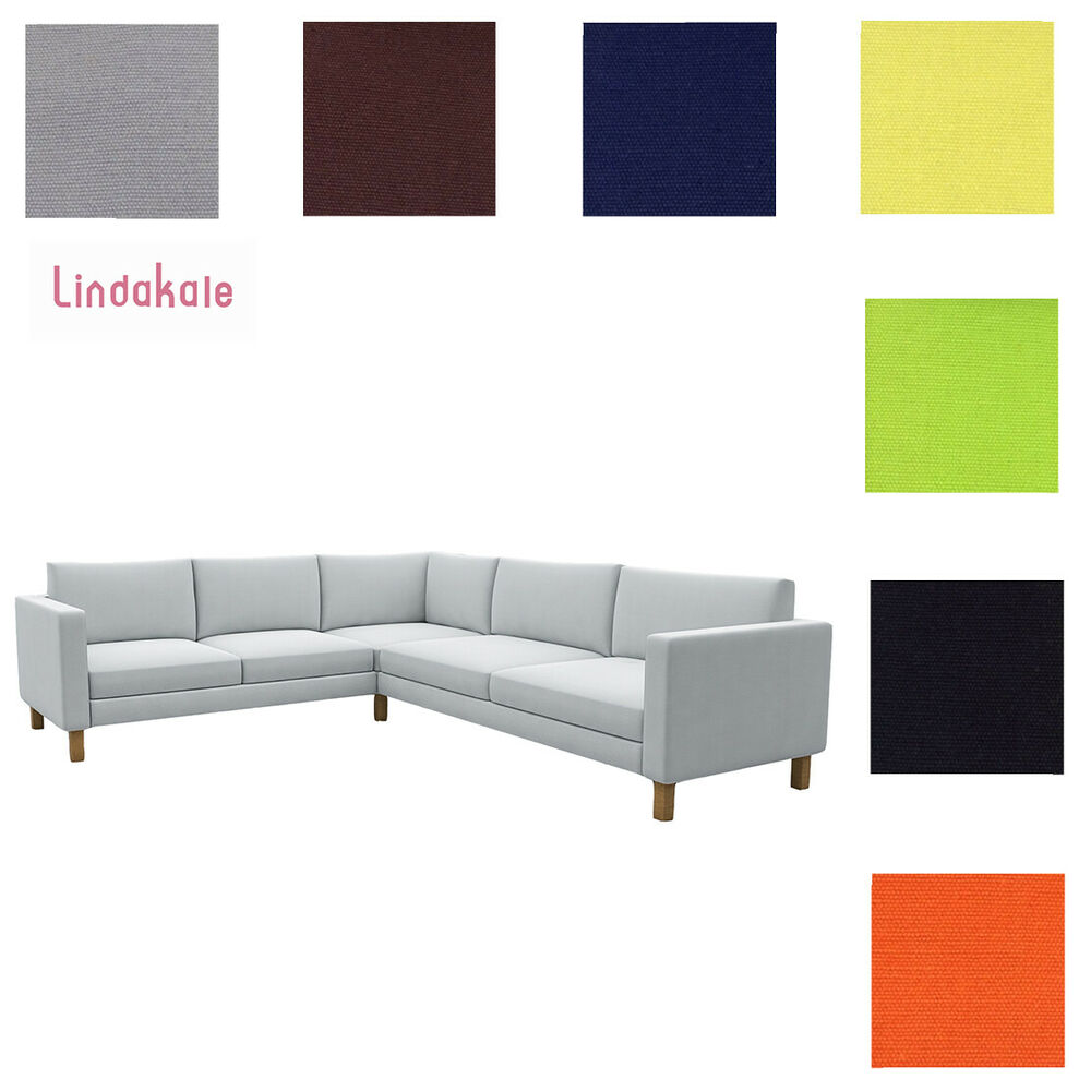 Covers For Ikea Karlstad Sofa: Custom Made Cover Fits IKEA Karlstad Corner Sofa 2+3 / 3+2