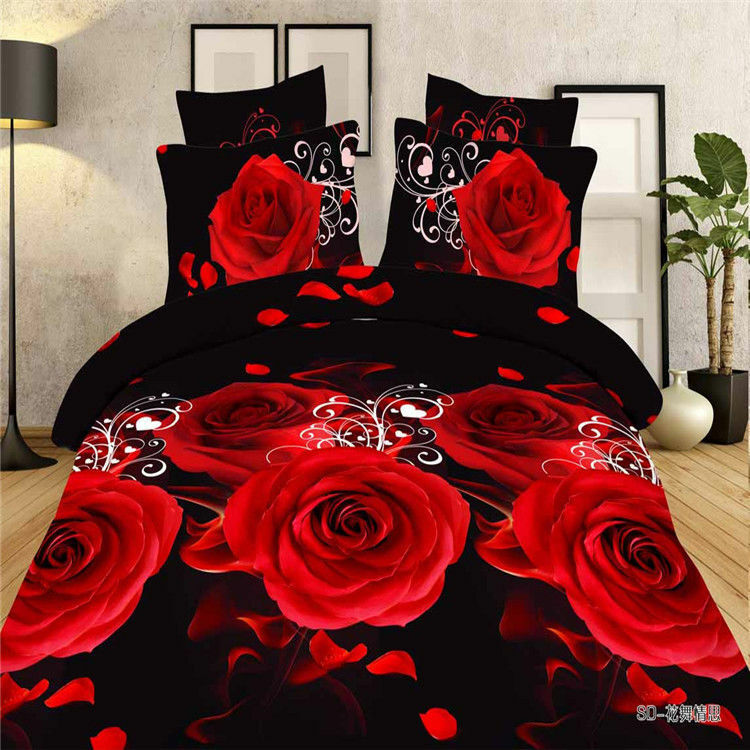 Chinese Landscape King Bedding