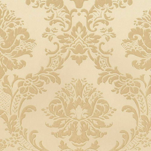 victorian damask wallpaper md29435 tone on tone gold