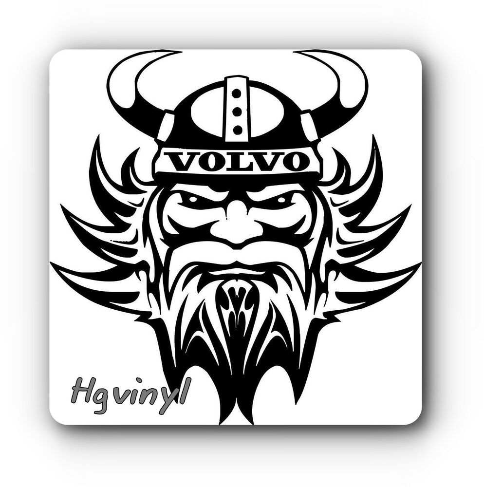 volvo viking vinyl decal sticker truck for walls glass body panels ebay. Black Bedroom Furniture Sets. Home Design Ideas