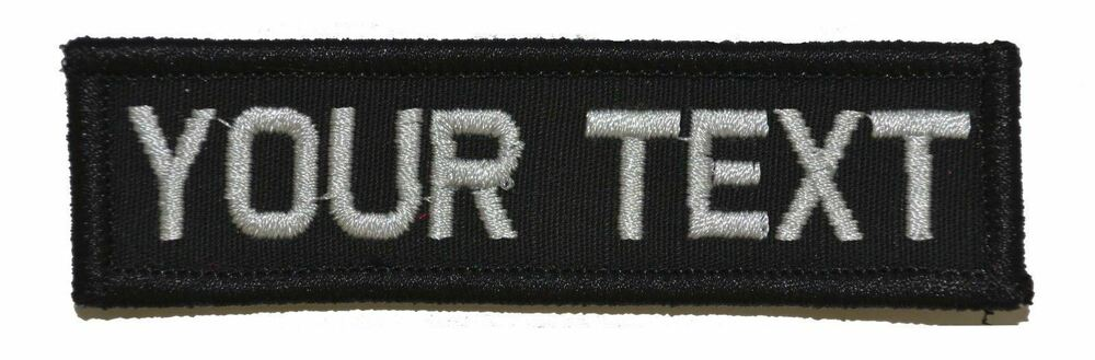 Details about 1x3.75 Nametape Custom Name Fits Operator Hats Military  Morale Patch e4509ba202c