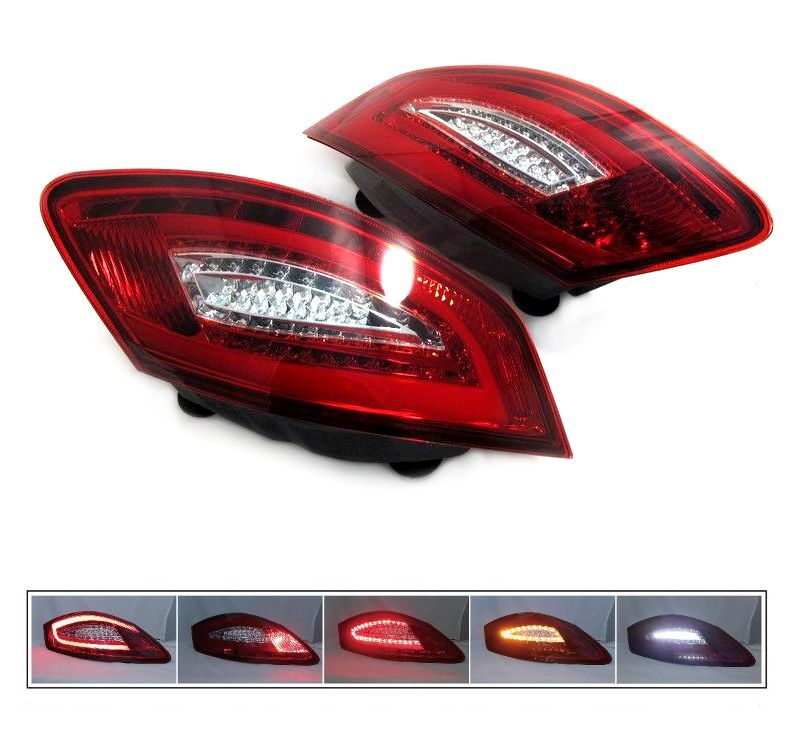 LED Tail Lights for Porsche Boxster 05-08, Cayman 987 06 ...