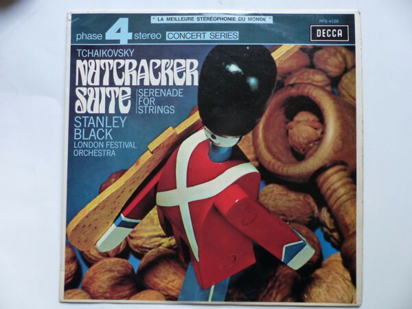 TCHAIKOVSKY Nutcracker suite London festival orchestra dir BLACK 4126