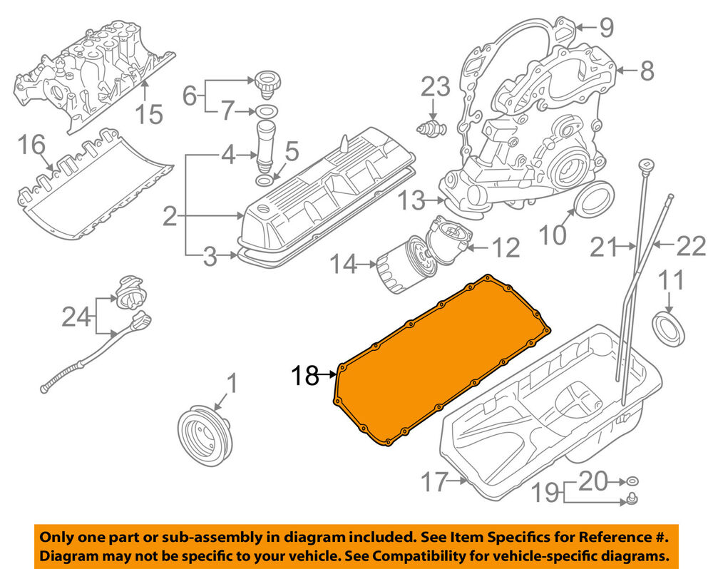 mustang 4 6 engine diagram land rover oem 99-02 discovery 4.0l-v8-engine oil pump ... land rover 4 6 engine diagram