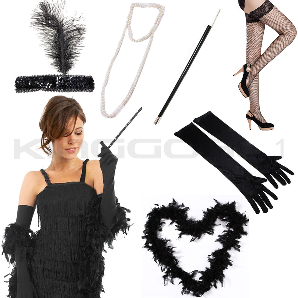 Flapper 1920S 20S Charleston Ladies Fancy Dress ...