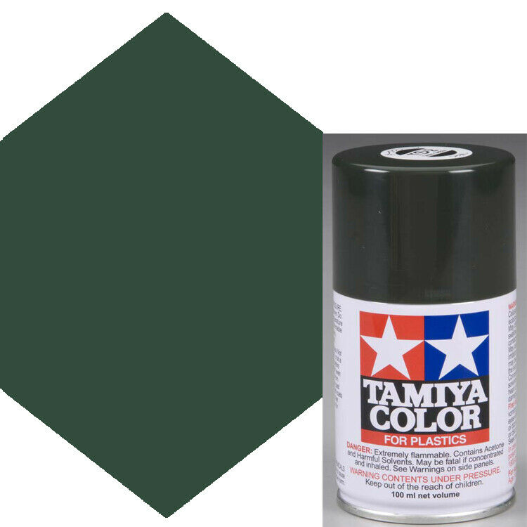 how to make dark green paint