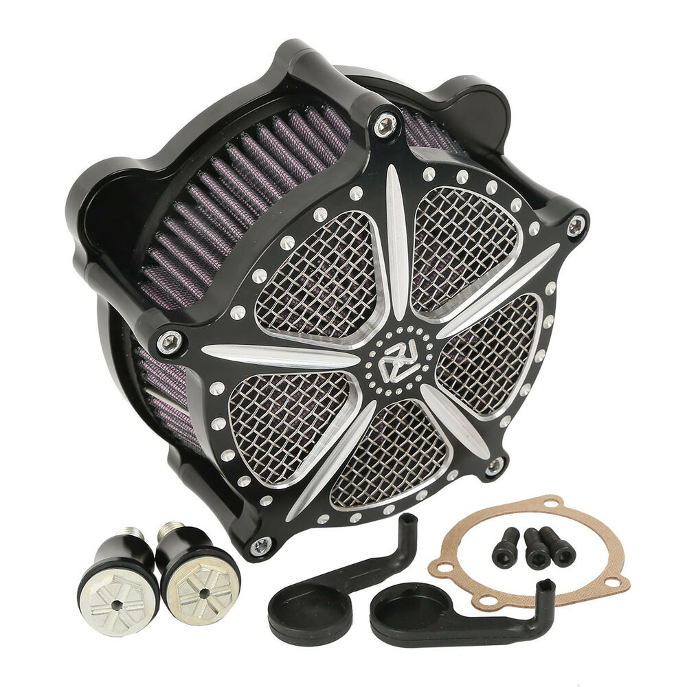 New Air Cleaner Intake Filter For Harley Softail Rocker