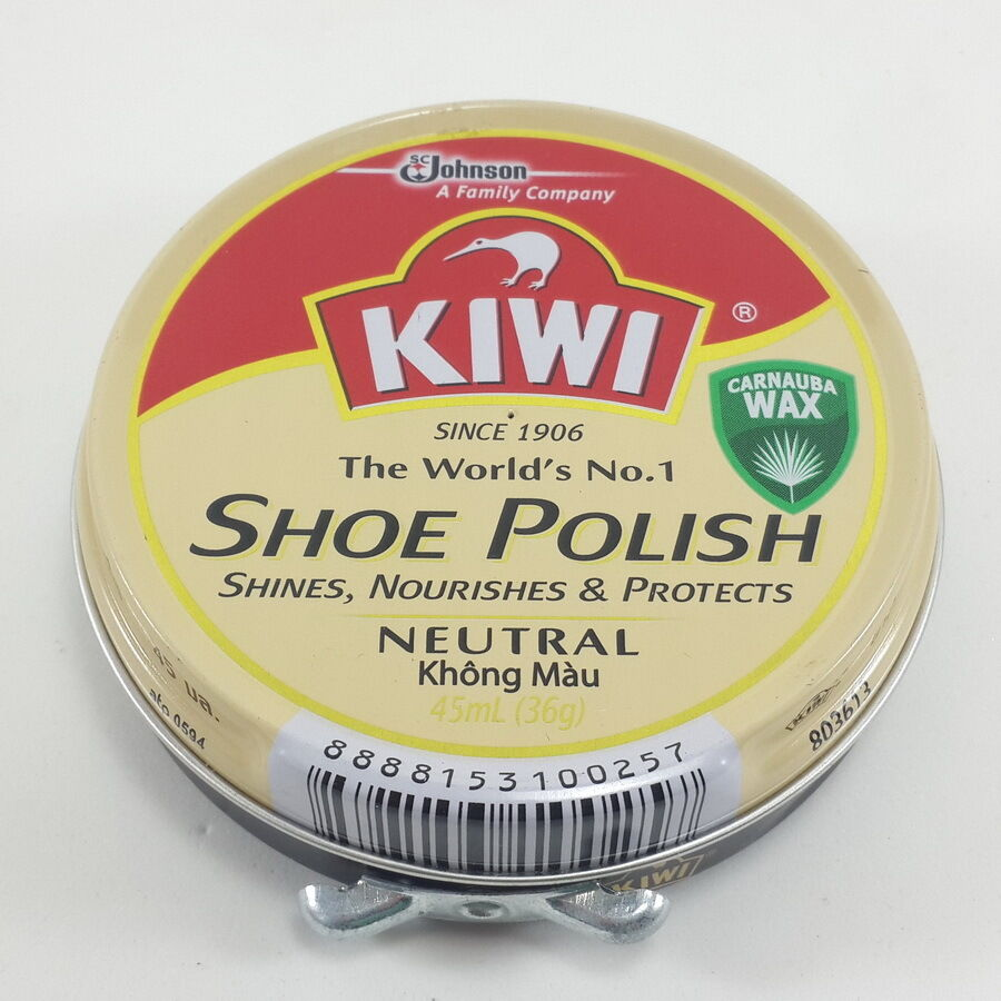 Neutral Shoe Polish For Leather Shoes