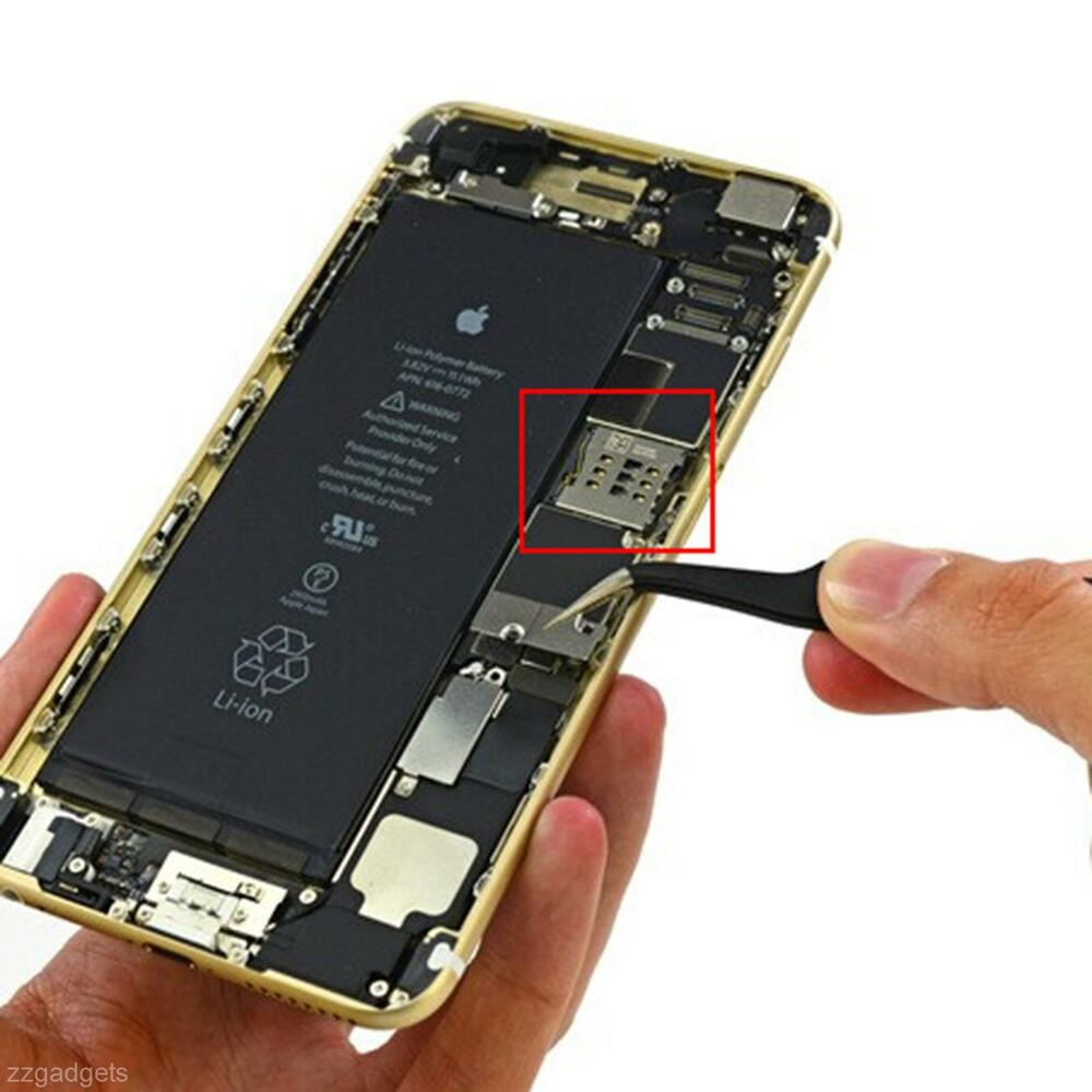 how to open sim card slot on iphone 5 nano sim card reader socket holder connector slot tray for 21382