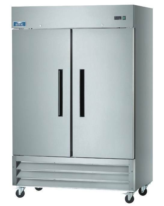 Arctic Air Af49 49cf 2 Door Stainless Steel Commercial