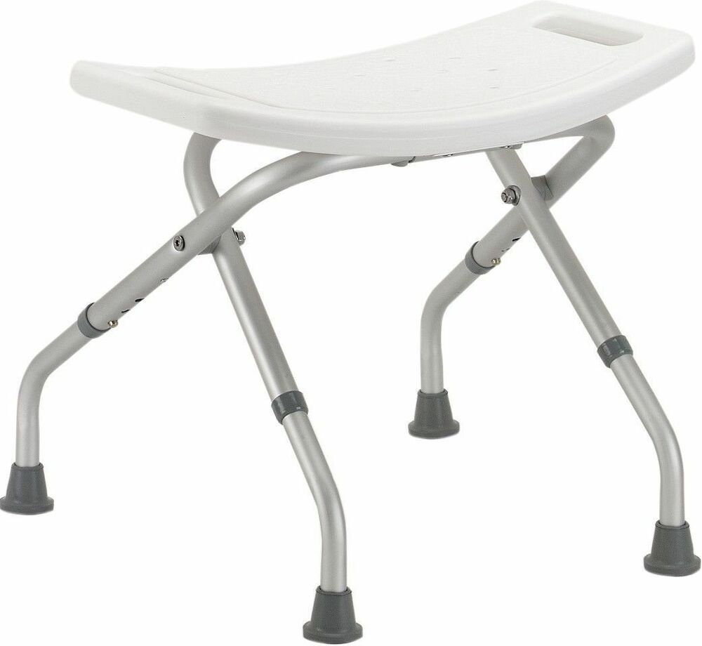 Folding Bathtub Bench Bath Tub Seat Stool Shower Chair