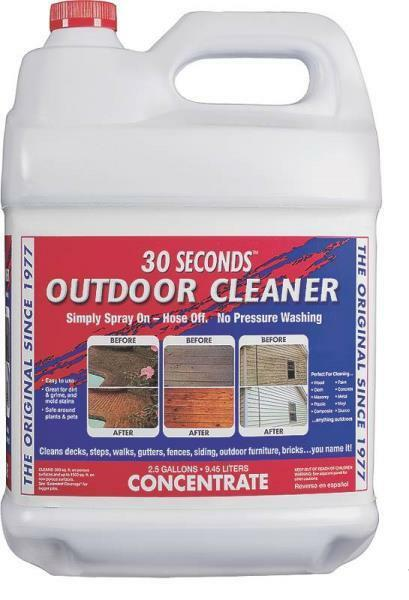 New Collier 30 Seconds 2 5 Gallon Concentrate Siding Deck