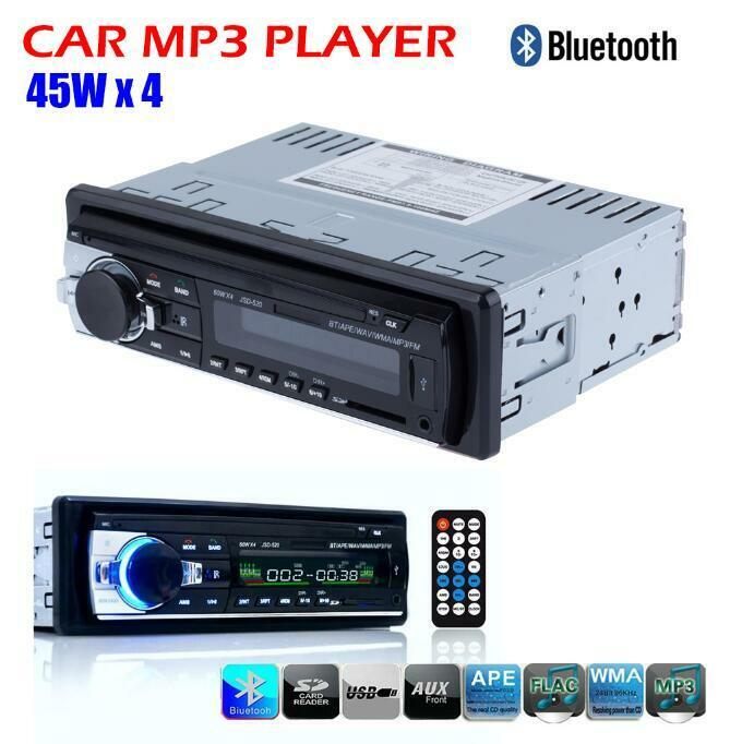 car audio stereo mp3 player fm receiver bluetooth head. Black Bedroom Furniture Sets. Home Design Ideas
