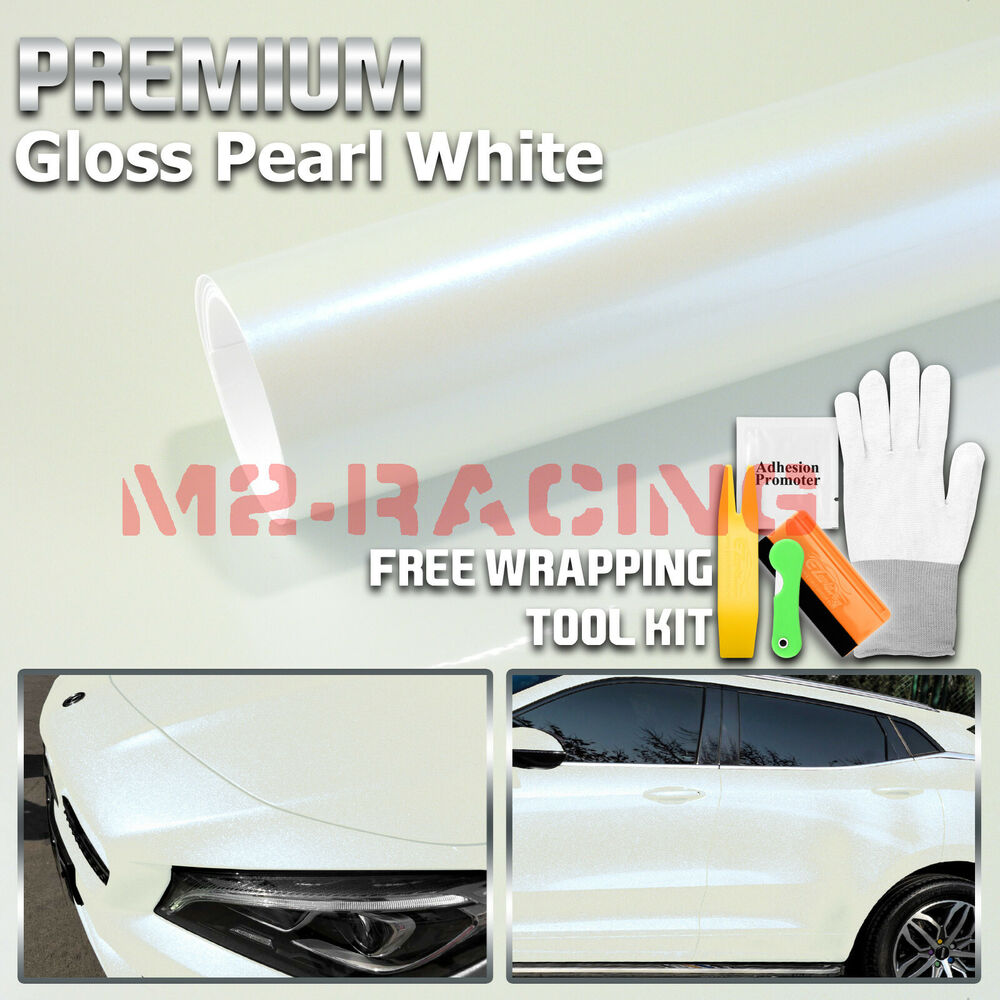 Details about gloss glossy black vinyl car wrap sticker decal bubble free air release film