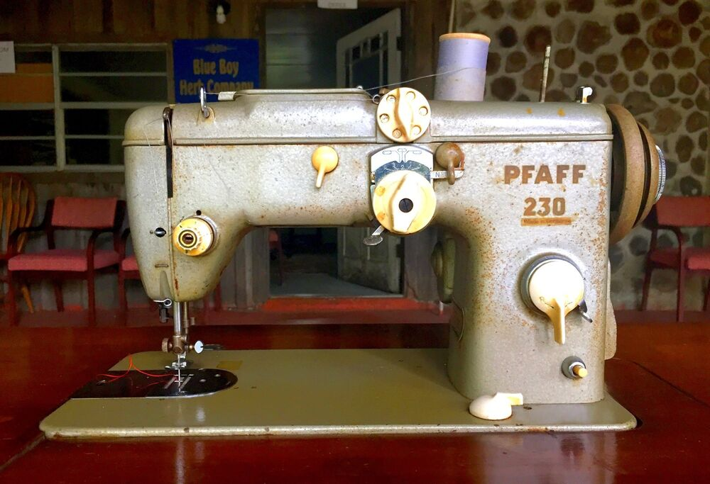 Antique Pfaff 40 Sewing Machine With Built In Sewing Table Made Cool Pfaff 230 Sewing Machine For Sale
