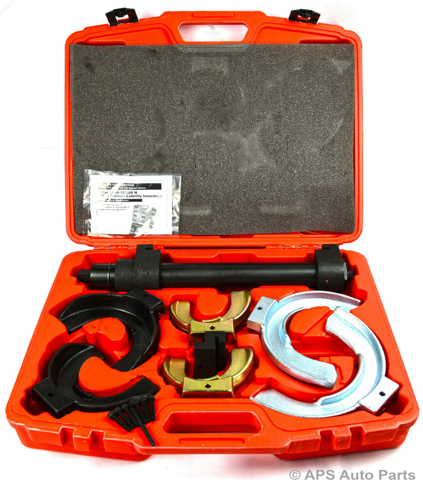 New universal strut coil spring compressor tool kit car for Auto p garage roussillon