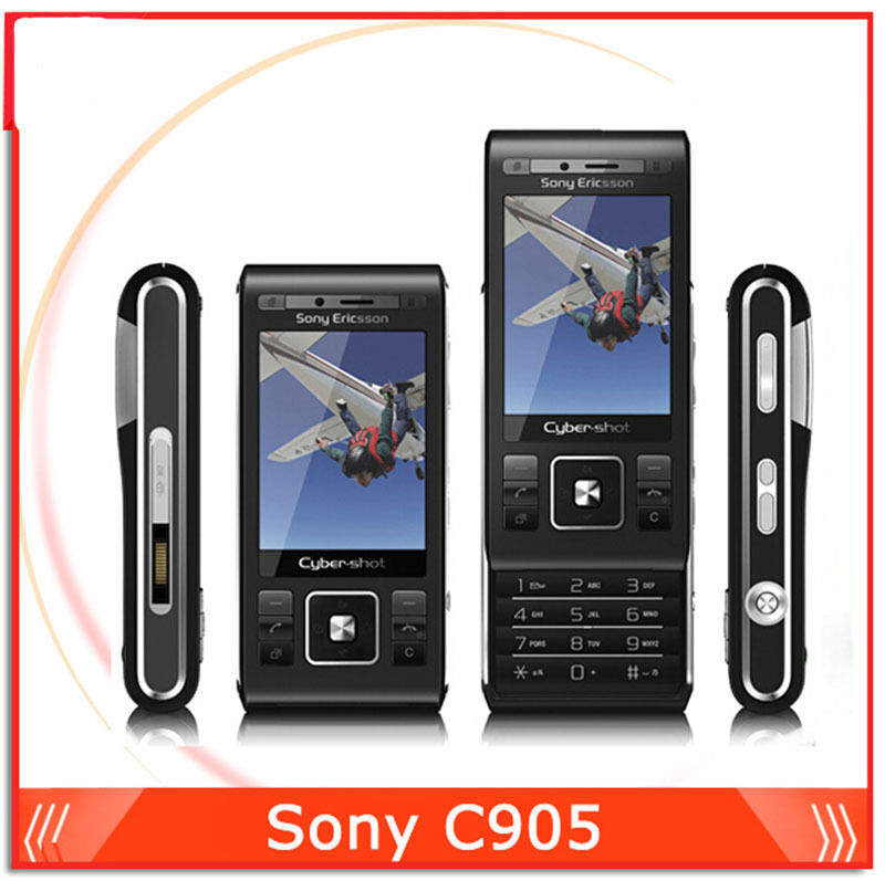 original unclocked sony ericsson c905 8mp camera 3g wifi gps mobile phone ebay. Black Bedroom Furniture Sets. Home Design Ideas
