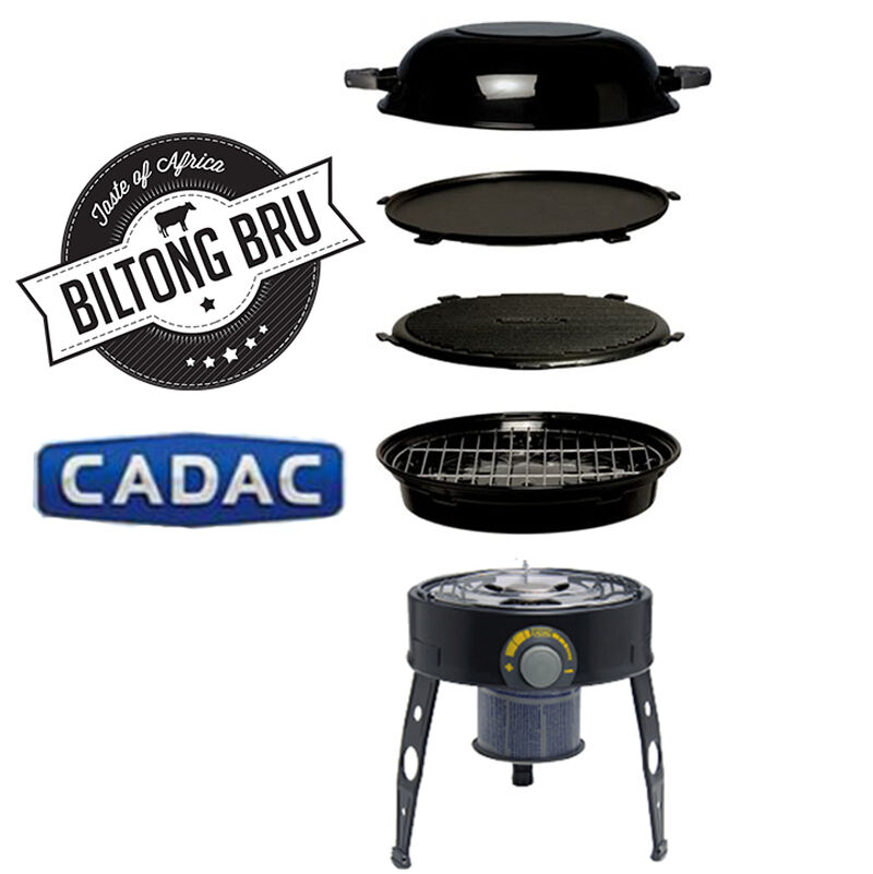 cadac safari chef bbq braai portable gas grill bbq. Black Bedroom Furniture Sets. Home Design Ideas