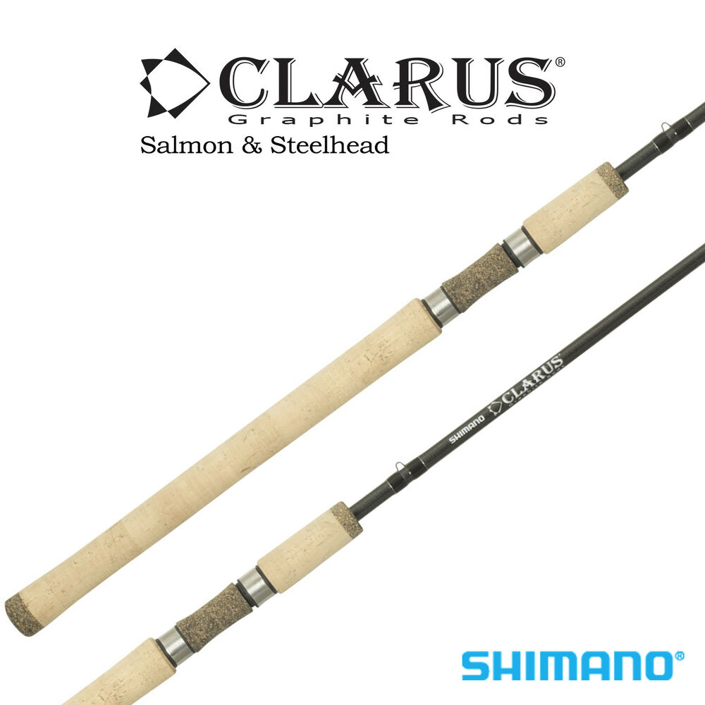 Shimano clarus steelhead spinning rod css100mh2b 10 for Heavy fishing rod