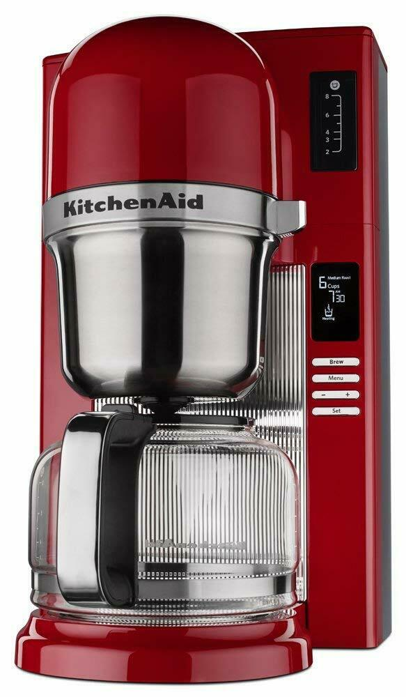 KitchenAid RR-KCM0802CU Pour Over Coffee Brewer, Contour Silver eBay