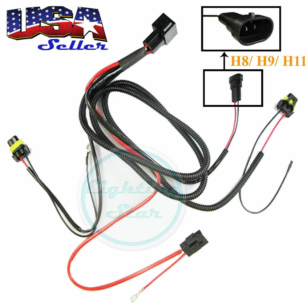 xenon hid conversion kit relay wiring harness wire upgrade