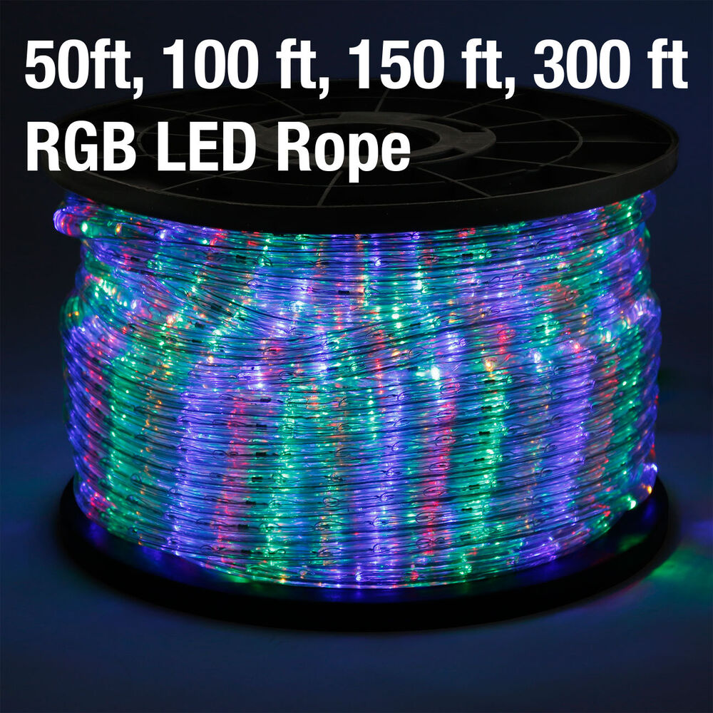 rope light 110v home party christmas decorative indoor outdoor ebay