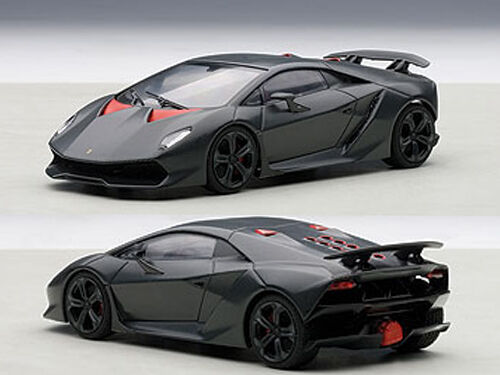 lamborghini sesto elemento 1 43 diecast car model by autoart 54671 ebay. Black Bedroom Furniture Sets. Home Design Ideas