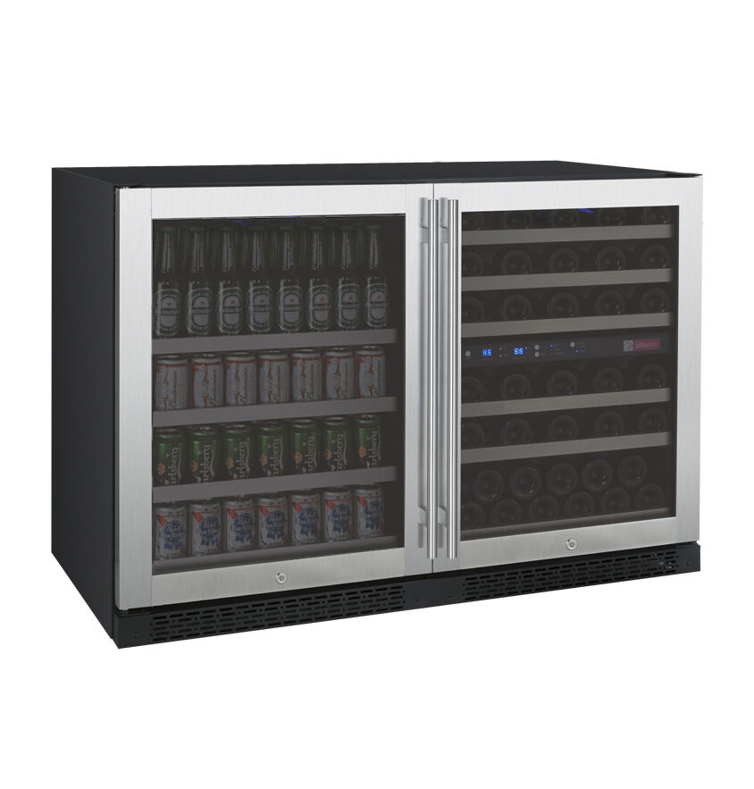 Allavino Side By Side Wine Refrigerator Amp Beverage Center