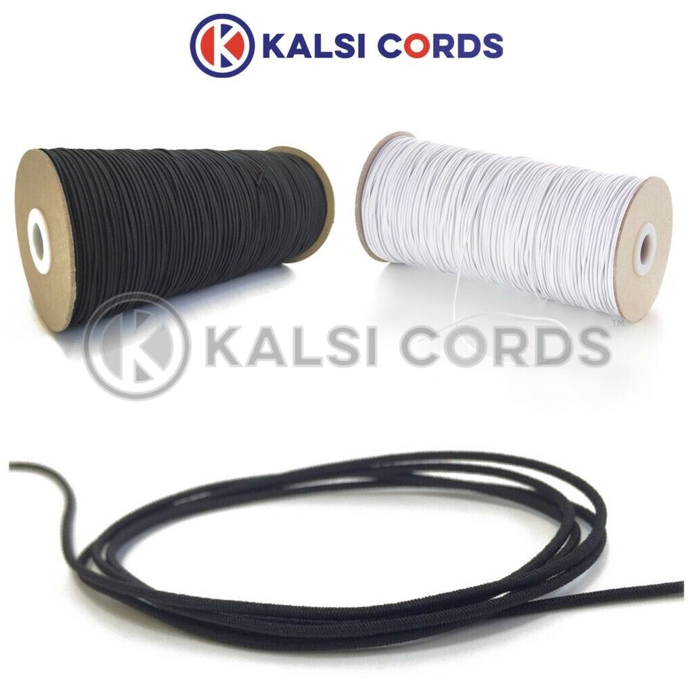 Various Colours 5 Meters 5mm Thickness Elastic Bungee Rope Shock Cord Tie Down