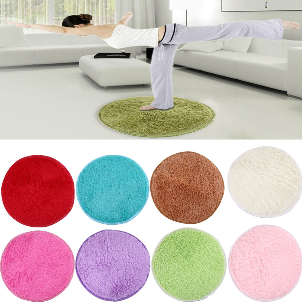 Absorbent Round Foam Bathroom Bedroom Floor Shower Mat Rug  : s l1000 from www.ebay.com size 1000 x 1000 jpeg 162kB