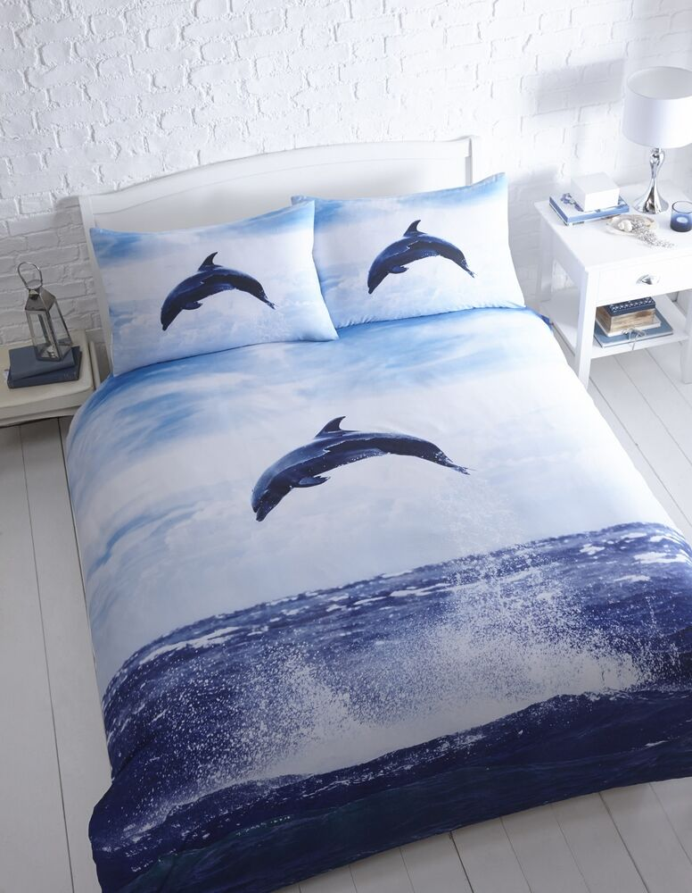 Dolphin Bed Set King