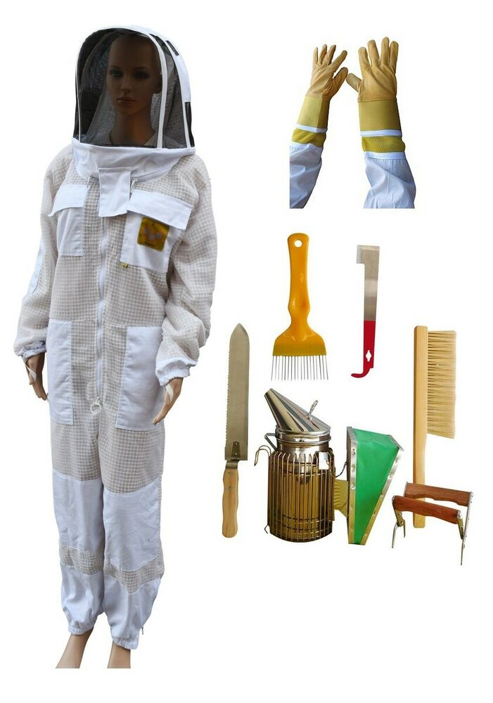 Beekeeping Bee Suit Ventilated 3 Layer Mesh Ultra Cool