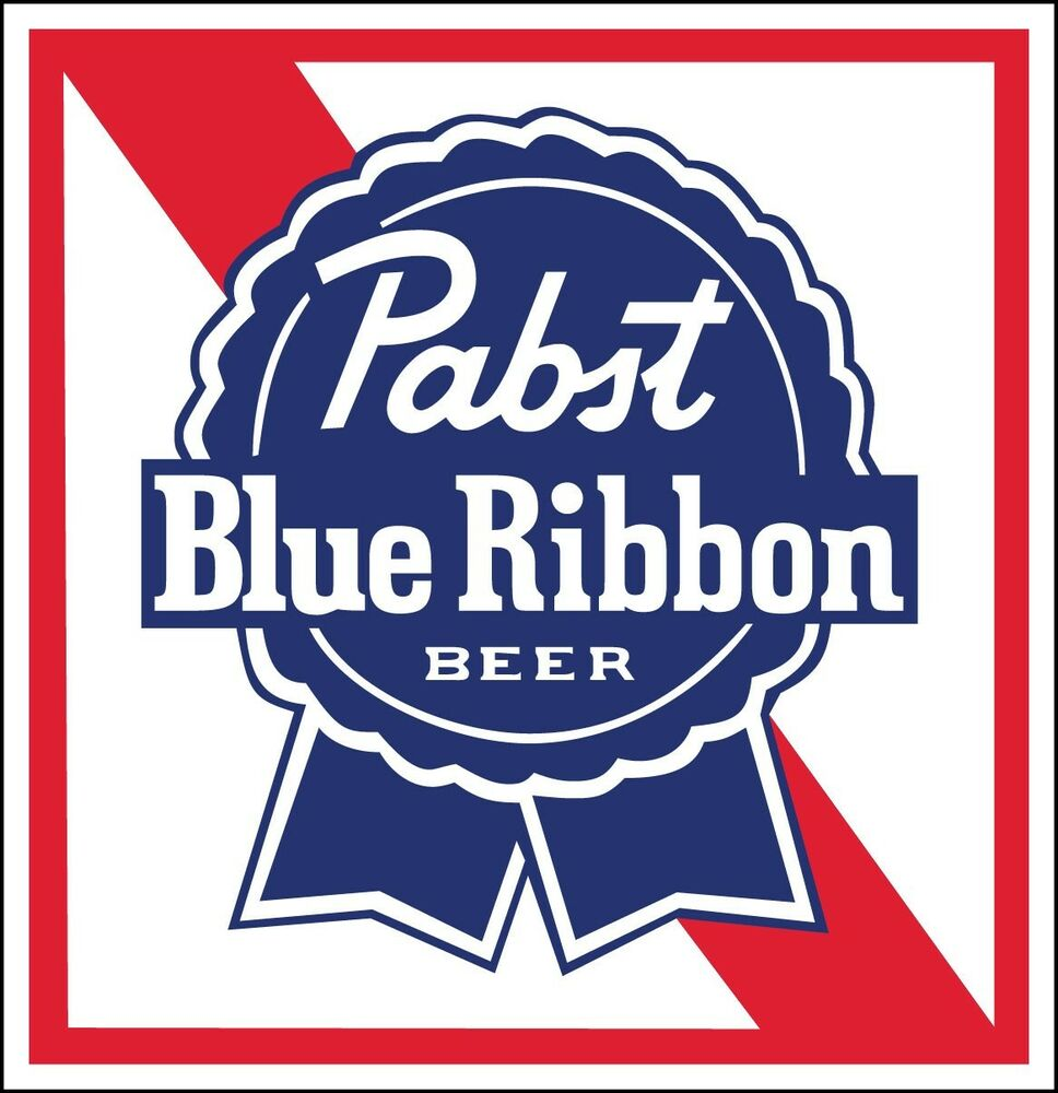 PABST BLUE RIBBON Sticker Decal *DIFFERENT SIZES* Beer