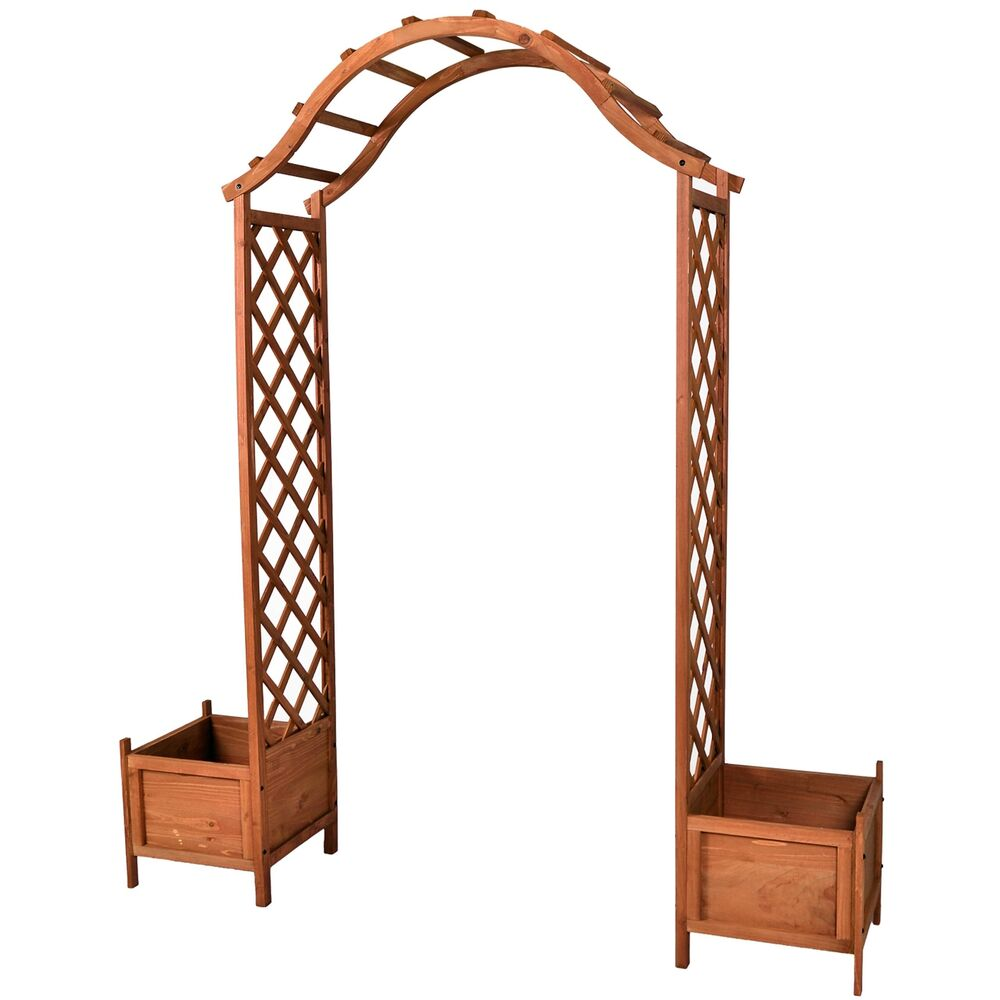 pergola holz rankhilfe gerade. Black Bedroom Furniture Sets. Home Design Ideas