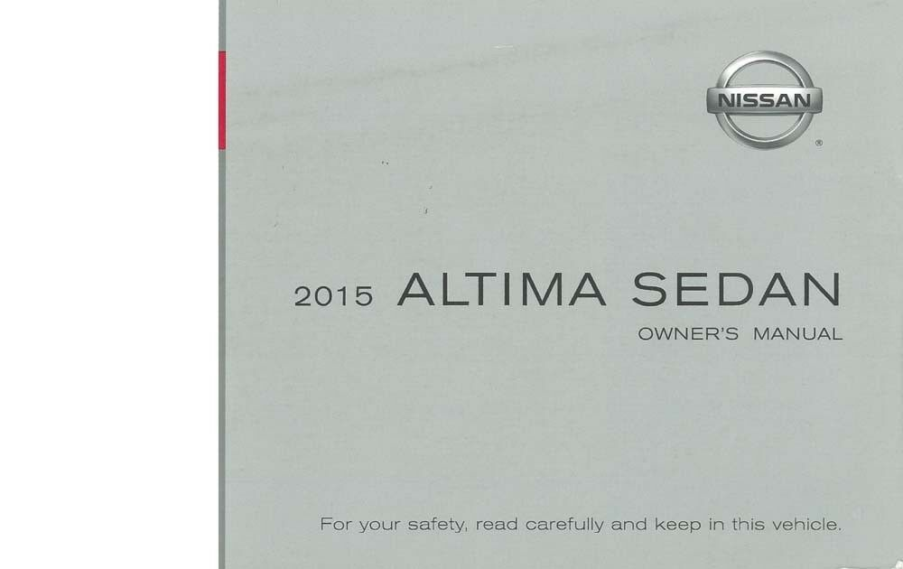 2020 Nissan Altima Owners Manual Manual Guide