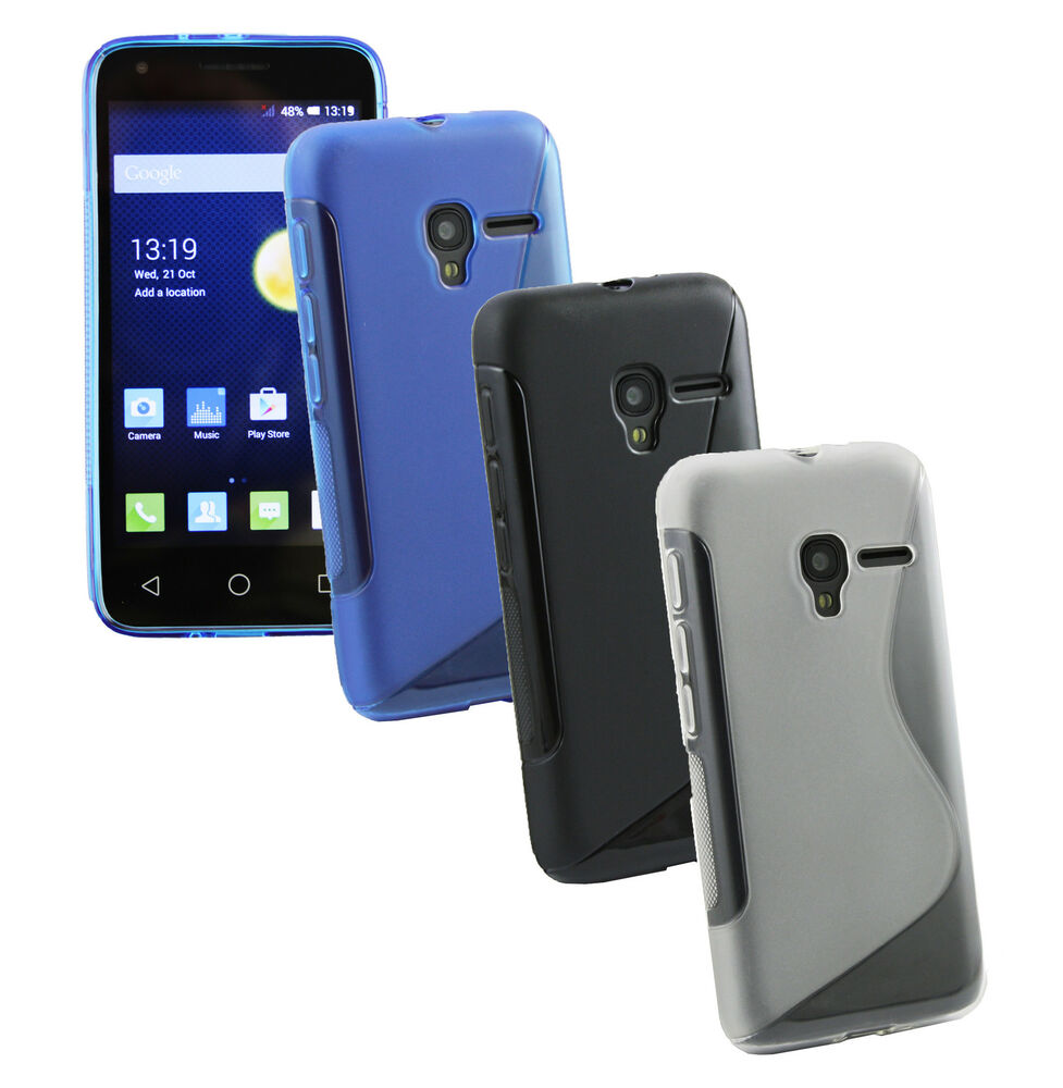 Ultra Slim Gel Case Cover For Alcatel One Touch Pixi 3 4