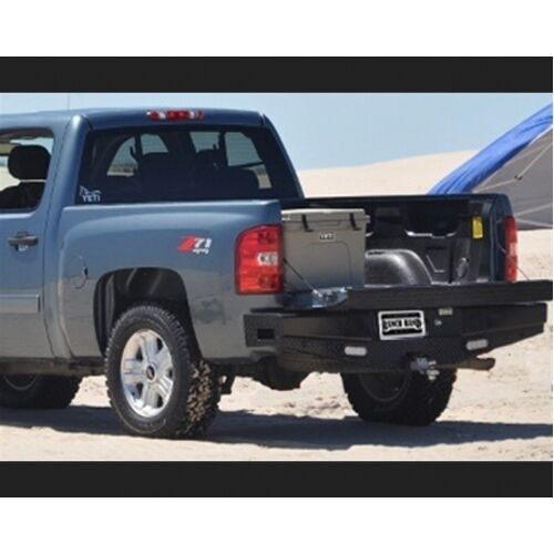 ranch hand sbc08hblsl rear bumper for 2007 2013 chevy. Black Bedroom Furniture Sets. Home Design Ideas