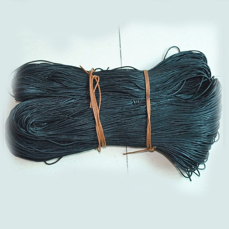 1 5mm Waxed Cotton Braided Cord Wax Linen Macrame Bead