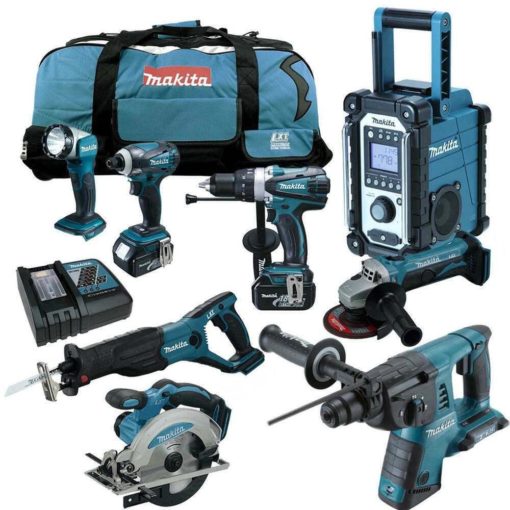makita 12tlg 18v profi akku set dmr102 dhr263zj 36v kombihammer z dlx2069m ebay. Black Bedroom Furniture Sets. Home Design Ideas