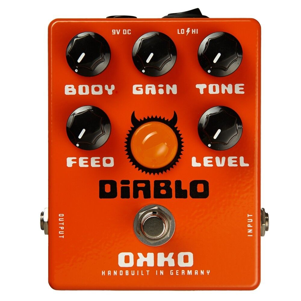 okko fx effects diablo overdrive distortion guitar pedal brand new ebay. Black Bedroom Furniture Sets. Home Design Ideas