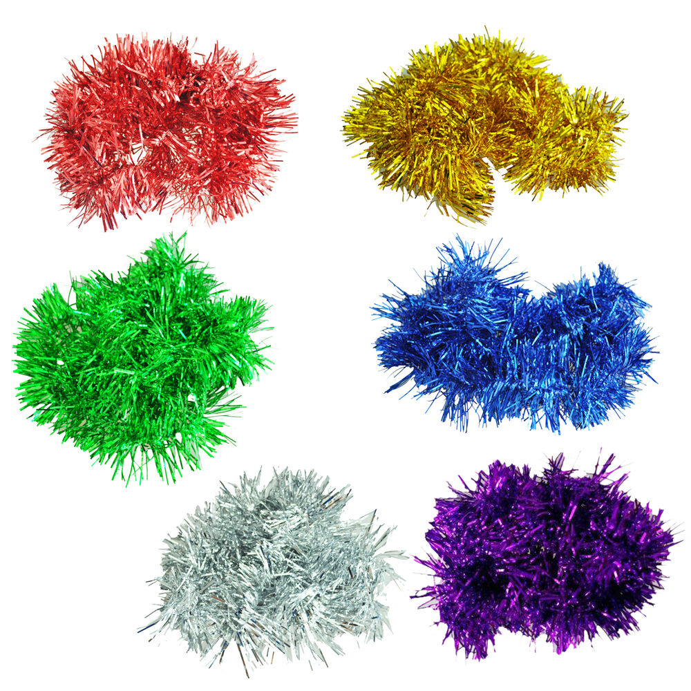 2m 6 5 ft christmas tinsel tree decorations tinsel Garland tree decoration