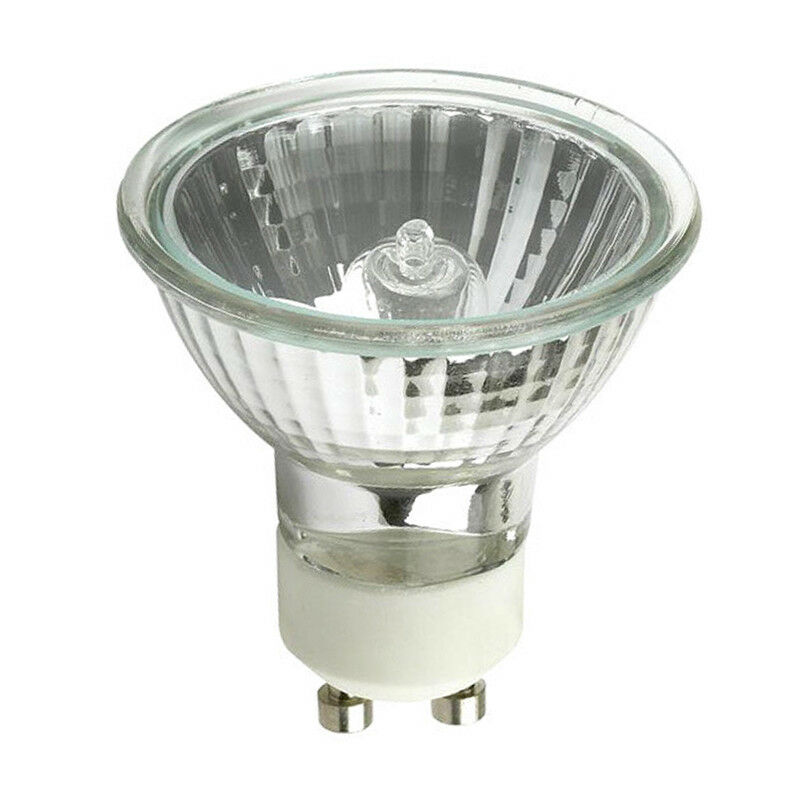 Q75mr16em Mr16 Halogen Light Bulb: BulbAmerica 50W 120v MR16 EXN GU10 Flood FL W/ Front Glass