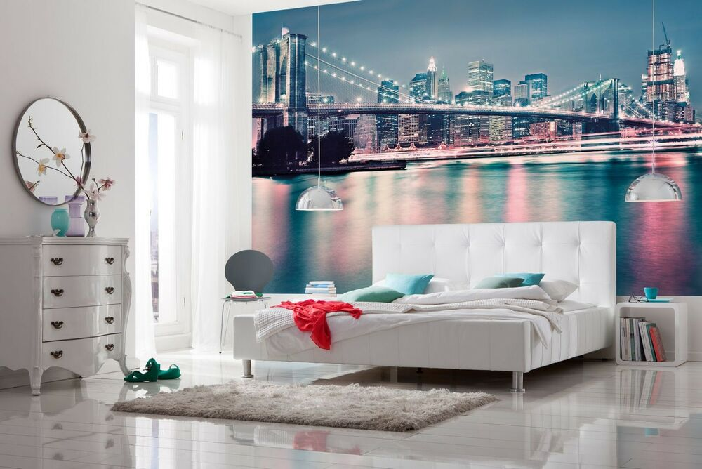 Wallpaper New York City Skyline Wall Mural 368x254cm