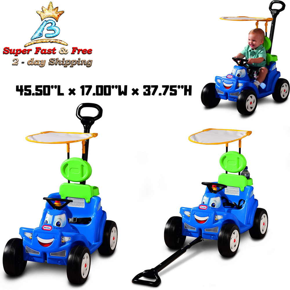 Little Tikes Kids Ride On Toy Deluxe 2 In 1 Cozy Roadster