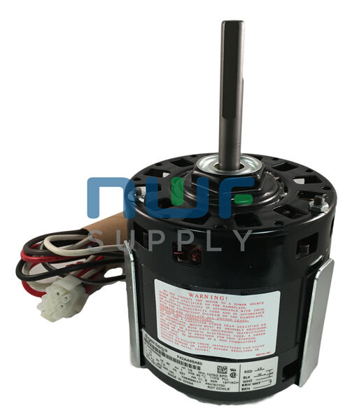 Coleman genteq a o smith blower motor f42aa65a50 1 3 hp for Ao smith furnace motors