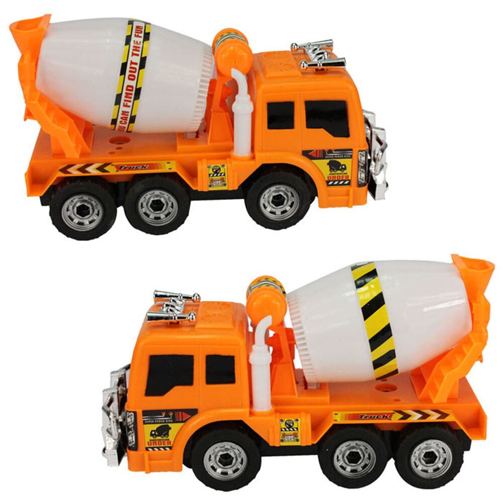 Large Toy Trucks For Boys : Boys large music flash truck cement electric mixer toy car