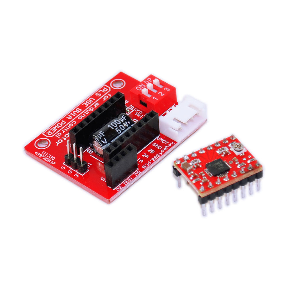 Keyes a4988 stepper motor driver control board for arduino for Motor driver for arduino