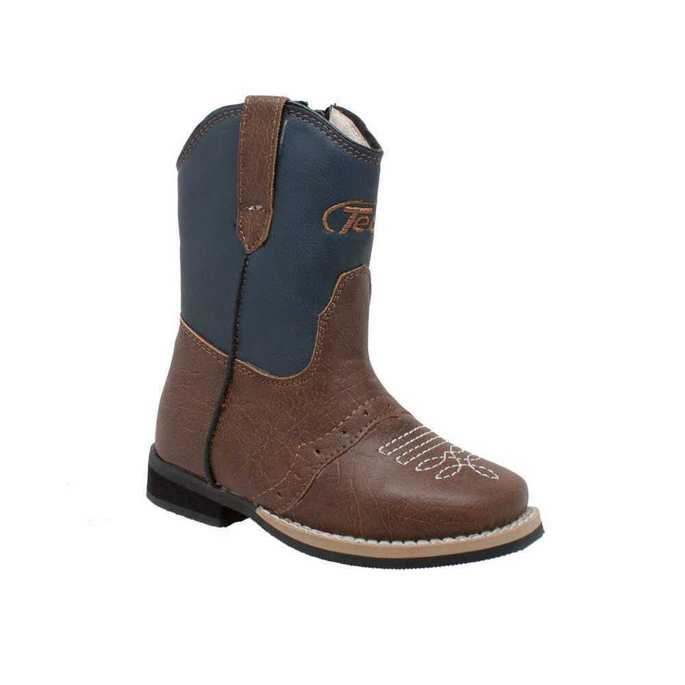 "AdTec Tecs Toddler Boy's 6"" Side Zipper Western Cowboy ..."