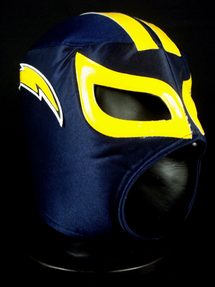 San Diego Chargers Foamy Nfl Mask Mexican Wrestling Mask