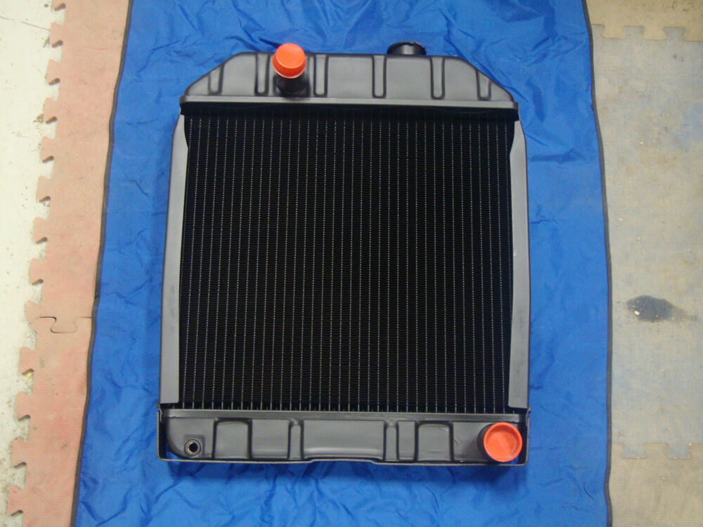 Ford 2000 Tractor Radiators : Ford tractor new radiator assembly w o